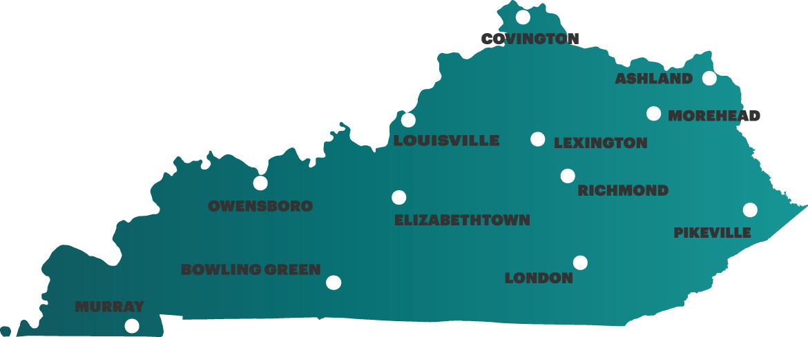 KY Innovation Locations Map